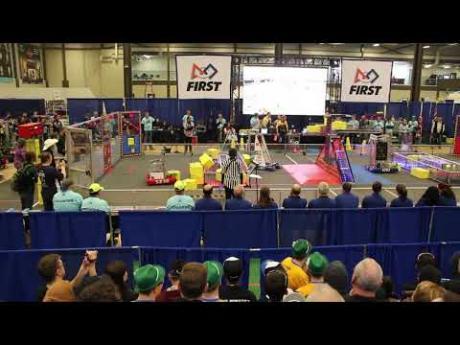 Kennedy Robotics Team Going to World Championship in Houston